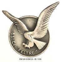 """Alpini 65a Compagnia """"Feltre"""" distintivo Esercito Italiano produttore Granero"""