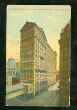 Color Picture Post Card 1912 Arcade Building Philadelphia, PA 15th and Market st
