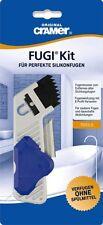 CRAMER FUGI KIT für perfekte Silikonfugen Set mit Fugenmesser + Fugenwerkzeug