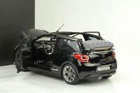2012 Citroen DS3 cabriolet Cabrio schwarz metallic 1:18 Norev Dealer