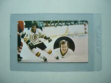 1970`S NHL HOCKEY POSTCARD PHOTO GREGG SHEPPARD AUTHENTIC AUTOGRAPH AUTO SHARP!!
