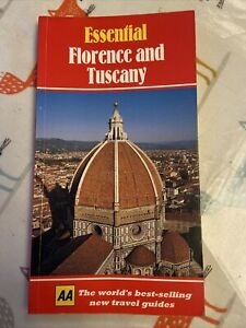 Essential Florence Tuscany by Robert S. Kane Paperback 1994 The AA Travel Guide