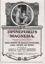 LONDON, Anzeige 1913, Dinneford's Magnesia