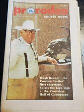 Pro Rodeo Sports News 1986 Lane Frost