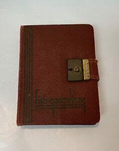 Handwritten Five Year Diary 1940-45 Little Girl 4th Grade Salisbury, NC