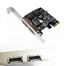 PCI-E Express SATA3 SATA3.0 6Gb/s eSATA SATA III Card