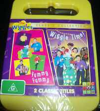 The Wiggles Yummy Yummy / Wiggle Time (Aust Region 4) DVD - New / Sealed