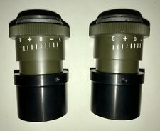 2 Stück f15 Hensoldt Okulare + Adapter/ für bino-Ansätze (MIT Strichplatte)
