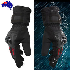 Pro-Bike Thermal Winter Warm 100% Windproof Waterproof Ski Moto Gloves 2XL / XXL