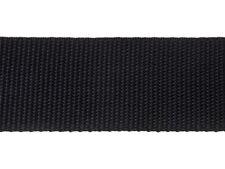Gurtband, Bänder 25mm breit, 25m lang, Dicke 1,3mm - SCHWARZ