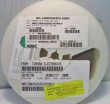 10 NIC Comp +//-5/% Multi Layer Ceramic Disc Capacitors NOS 10pF 1000V