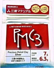 PMC3 Mitsubishi Precious Metal Clay 7g Silver Clay Pack (6.3g Silver Weight)