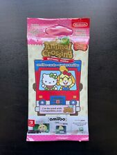 Animal Crossing Booster 6 Cartes NEW HORIZONS Amiibo Sanrio | NEUF et SCELLÉ