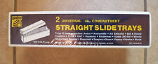 2 NEW Yankee Universal Straight Slide Trays Photo 40 Compartment W/ Dust Covers