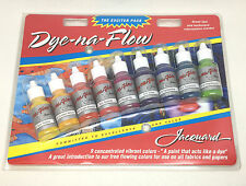 JACQUARD Dye Na flusso eccitatore Pack seta dipinto Batik Set Starter tessuto carta