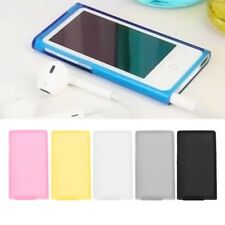 Protective Soft Silicone Back Skin Cover Case For Apple iPod Nano 7th Generation