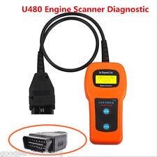Universal U480 OBD2 OBDII Diagnostic ELM327 Car Fault Code Reader Engine Scanner