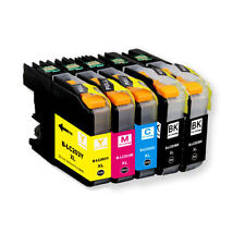 5PKs LC203 XL High Yield Compatible Ink Cartridges For Brother MFC-J5620DW