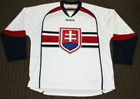 Reebok Zdeno Chara Slovakia National Hockey Team Jersey Size L