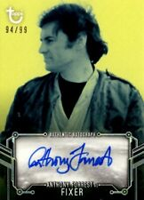 Star Wars ANH Black & White Blue #99 Autograph Card, Anthony Forrest / Fixer