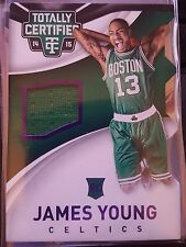 2014-15 Panini Totally Certified James Young Jersey Rookie RC PURPLE 38/99