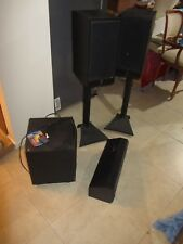 5.1 Speaker Set. floor standing/Center/Sub woofer, JBL, Richter and Solid power