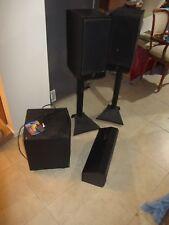 5.1 Speaker Set. floor standing/Center/Sub woofer, JBL, Richter and Solid power