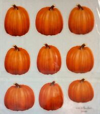 Pumpkin Fall Photo Scrapbook Stickers