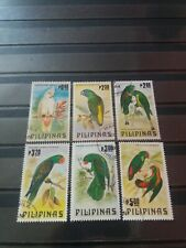 Philippines Stamps 1984 Parrots.Complete Set