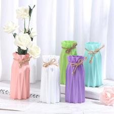 Plastic Flower Vase Decoration White Vases Ceramic Vase Flower Pot Decorat Tu