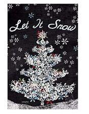 Lang Co. - Let It Snow mini garden flag - #Lg-Gf-044