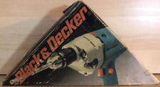 VHTF BLACK & DECKER PROFESSIONAL HAMMER DRILL BLUE SERIES 1982 NEW IN BOX