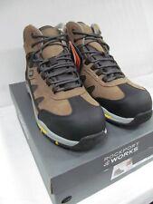 Rockport Work Mens Prompter Rk5650 Waterproof Sport Hiker Brown 9.5 M US