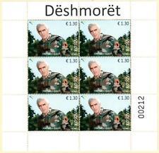 Kosovo Stamps 2017. Soldiers: Xheladin Gashi-Plaku. Mini Sheet MNH.