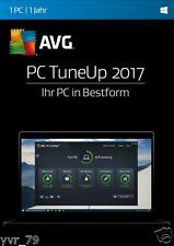 AVG PC TuneUp 2017 Windows + Android System Performance Tuning Lizenz Key ESD