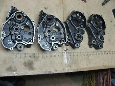 ENGINE MOTOR CASES RIGHT LEFT KX80 CRANK 81-85 81 82 83 84 85 Kawasaki kx 80
