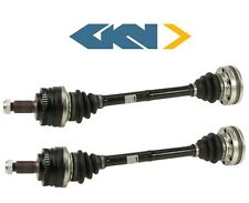 For BMW E30 318i 325i M3 Pair Set of 2 Rear CV Axle Shaft Assemblies OEM GKN
