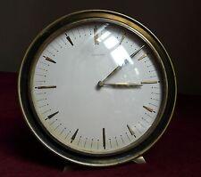 Vintage Art Deco Junghans Meister Germany Desk Clock Dedication Dr. Stocke 1955