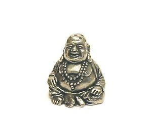The Laughing Buddha Thimble Pewter Collectible Thimble Buddha Wellbeing Gift NEW