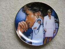 Franklin Mint ~ Angels Among Us ~ # Ra 5751~ Princess Diana Porcelain Plate