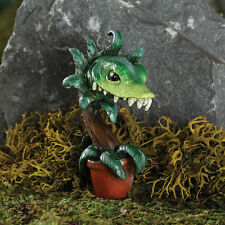 Fang Man Eating Plant Stake GO 17591 Miniature Fairy Garden Dollhouse