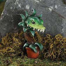 Fang Man Eating Plant Stake GO 17591 Miniature Fairy Garden Dollhouse