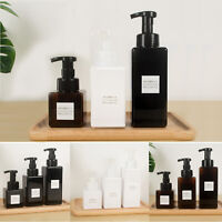 250/450/650ml PETG Plastic Foaming Soap Dispenser Lotion Shampoo Pump Bottles