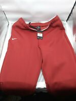 NWT Men's Nike Therma Heavy Sweat Pants Joggers Running Red CI4461-698 Size L