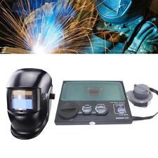 DIN9-DIN13 LCD Screen Solar Auto Darkening Welding Helmet Mask Goggles Lens