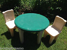 Step 2  LifeStyle Dining Room Table & Chairs Set   green EUC NJ location