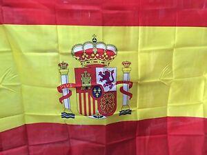 BANDERA CALIDAD TELA AAA NACIONAL DE ESPAÑA 150x90cm - BANDERA NACIONAL ESPAÑA
