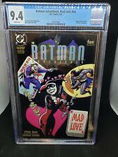 BATMAN ADVENTURES: MAD LOVE #1 1994 CGC 9.4 HARLEY QUINN JOKER BATGIRL