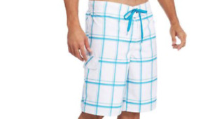 """Swim shorts mens size 3XL 48-50"""" new 100% polyester OP outseam 22"""" at knee"""