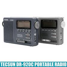 1PC PORTABLE RADIO TECSUN DR-920C FM/MW/SW Full Band Digital Radio Clock Display
